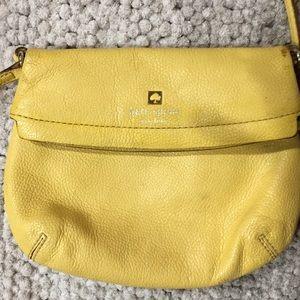 Kate Spade small yellow shoulder bag Purse